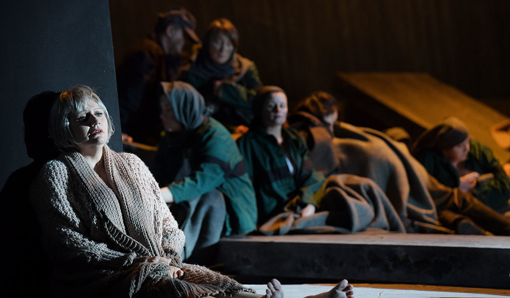 Lady Macbeth von Mzensk: Anja Kampe (Katerina Ismailowa) © Barbara Aumüller
