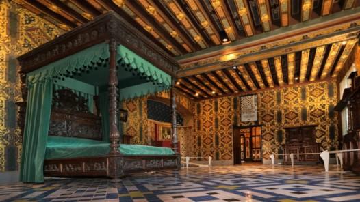 Schlafzimmer der Königin © D. Lepissier