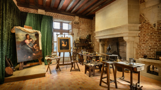 Atelier von Léonardo de Vinci © Léonard de Serres