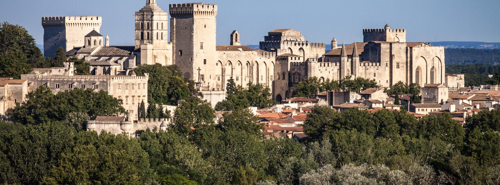 Der Papstpalast in Avignon feiert 2020 den 25. Jahrestag des Eintritts in das UNESCO-Weltkulturerbe