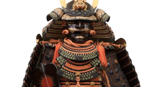 Samurai. Pracht des japanischen Rittertums: Rüstung (Nimaitachidō tōsei gusoku) Helmschale (ca. 1400) und Rüstung (18. Jh.) © The Ann & Gabriel Barbier-Mueller Museum, Dallas; Photo: Brad Flowers