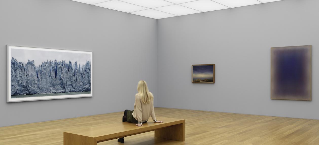 "Blick in die Ausstellung ""Epidermis – Conditio humana – Kosmos"" © Hilti Art Foundation"