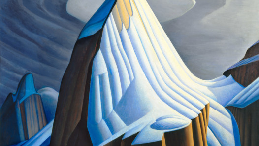 MAGNETIC NORTH: Lawren S. Harris (1885 -1970) Mt. Lefroy, 1930, oil on canvas 133.5 x 153.5 cm, Purchase 1975, McMichael Canadian Art Collection, 1975.7 © Family of Lawren S. Harris