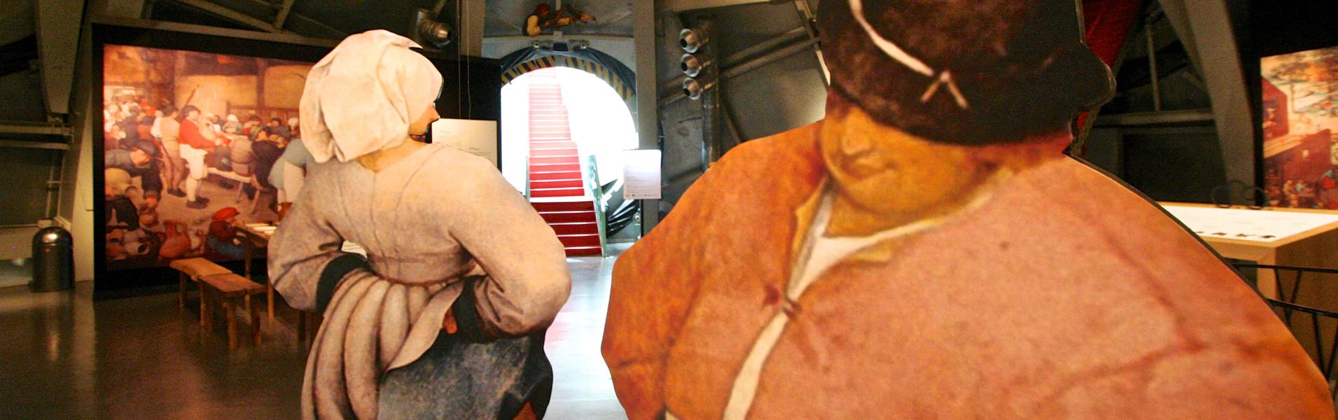 Atomium, Sonderausstellung: Bruegel, Eine poetische Erfahrung © www.atomium.be-sofam, 2019