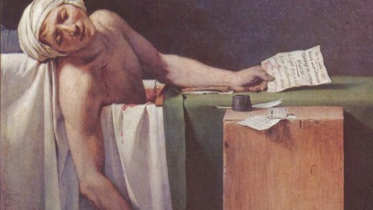 Jacques-Louis David, The Death of Marat, 1793, oil on canvas, Royal Museums of Fine Arts of Belgium © Royal Museums of Fine Arts of Belgium