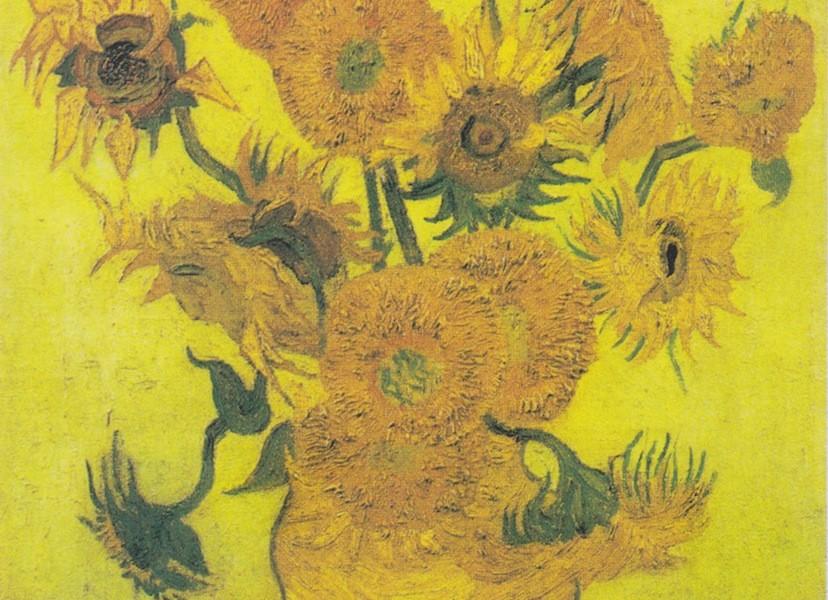 Vincent van Gogh (1853-1890, Sonnenblumen, Arles, Januar 1889 oÖl auf Leinwand, 95 cm x 73 cm © Van Gogh Museum, Amsterdam, (Vincent van Gogh Foundation)