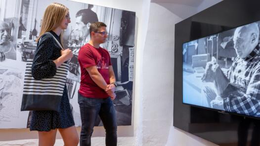 Edward Quinn Ausstellung Gmünd 2020, Foto Richard Krämmer