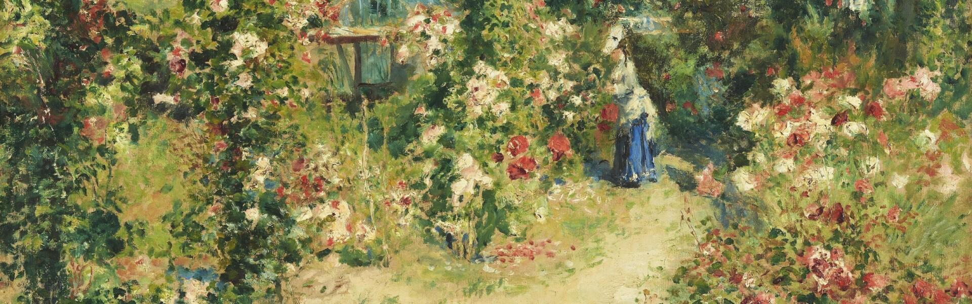 Pierre-Auguste Renoir, Das Gewächshaus (La Serre|The Greenhouse), um 1876, Leihgabe aus Privatbesitz, Foto: © Staatsgalerie Stuttgart