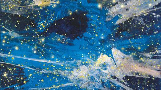 Bernd Zimmer, Expansion. Z-115, 2003, 120 x 145 cm, © Bernd Zimmer, VG Bild-Kunst, Bonn 2020, Foto: Hans Döring, München