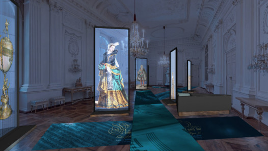 View of the exhibition, White Hall