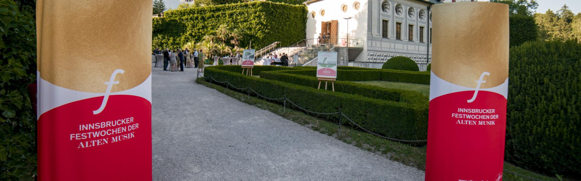 Eindrucksvolles Ambiente: Schloss Ambras in Innsbruck © Innsbrucker Festwochen, Felix Pirker