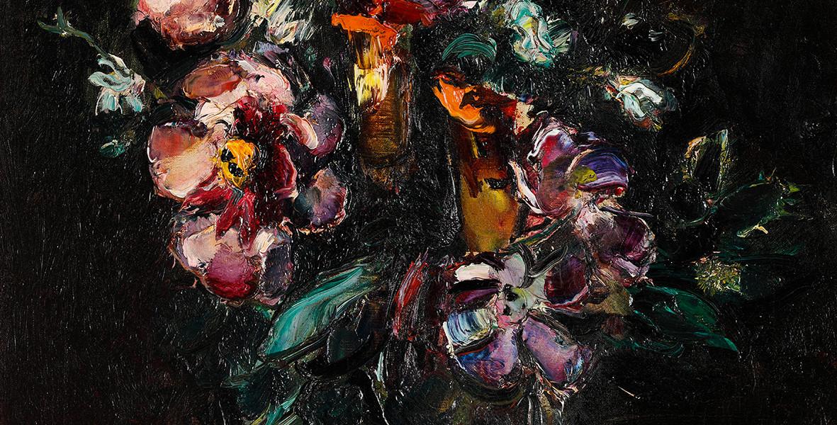 "Anton Faistauer (1887-1930), ""Blumenbouquet"", Öl auf Leinwand, signiert u. datiert 1913, 66 x 52,4 cm, Foto: © Schütz Fine Art"