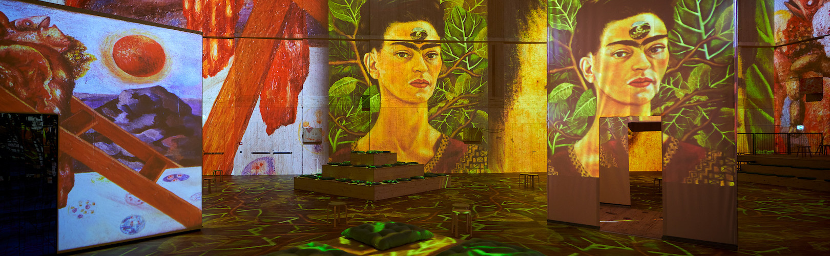 """Viva Frida Kahlo - Immersive Experience"", photo Andy Juchli"